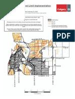 Neighbourhood Speed Limit Map Ward9