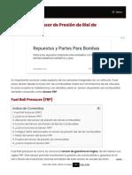 【 Sensor FRP 】 _▷ Funcionamiento, Fallas y Solución ◁