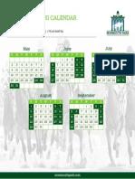 Press Calendar 2021 MP ONLY