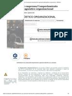 Administración de empresas_Comportamiento organizacional_Diagnóstico organizacional - Wikilibros