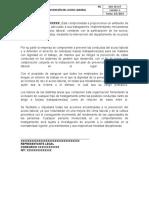 DOC 05 SST Política De Prevención Del Acoso Laboral