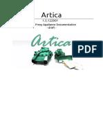 Doc. Tech. - Artica - Proxy - 2018 Documentation