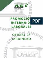 Soaep Temario Oficial 1 Jardinero Promoción Interna