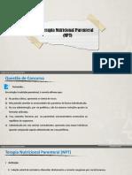 Terapia Nutricional Parenteral (NPT)