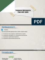Tratamento Nutricional Da Pancreatite Aguda