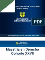 Presentacion MDE  XXVII
