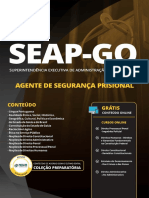 SEAP GO 2019 Agente de Seguranca Prisional