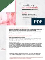 03 - ESTILO E OUSADIA