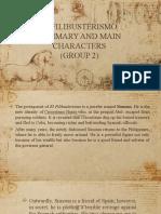 EL FILIBUSTERISMO Summary and Main Characters