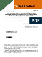 Dialnet-PercursoMetodologicoNaCatalogacaoDigitalizacaoEPre-7009006