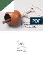 Clarinetes tradicionales de América del Sur. Parte II. Brasil y Chaco