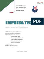 ESTRATEGIA DE DISTRIBUCIÓN TECHO
