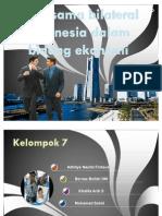 Kerjasama bilateral Indonesia dalam bidang ekonomi