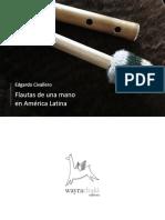 Flautas de Una Mano en América Latina. Parte I. Argentina, Chile y Bolivia