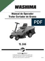 Trator Cortador de Grama TL 246