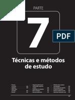 Técnicas e Métedos de Estudo