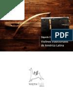 """""""Violines"""" tradicionales de América Latina. Parte I. Argentina y Paraguay"""