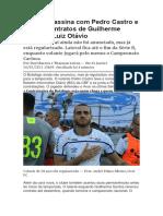 Botafogo assina com Pedro Castro e renova contratos de Guilherme Santos e Luiz Otávio1