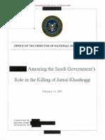 rapport MBS Khashoggi