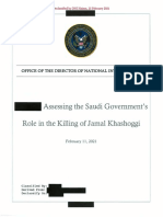 Assessment Saudi Gov Role in JK Death 20210226