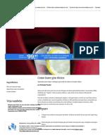 Como fazer gim tônica - Paladar - Estadão