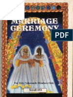 The Marriage Ceremony By Dr. Malachi K. York (FREE DOWNLOAD E-BOOK)