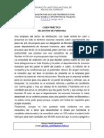 CASO DE ESTUDIO PROCESO DE SELECCION