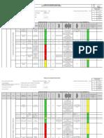 FOR-GG-07 Matriz de Evaluación de Riesgos SSOMA-Montaje y desmontaje de andamios V06