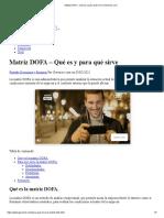 Matriz DOFA – Qué es y para qué sirve _ Gerencie.com