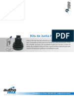 Catálogo automix junta homocinetica