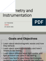 Photometry and Instrumentation.V2
