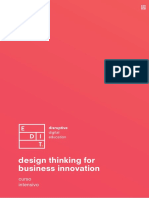 design thinking for business innovation curso intensivo