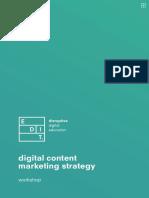 digital content marketing strategy workshop