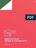 digital product design & management