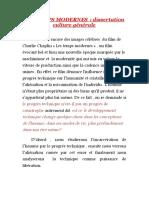 dissertation culture générale