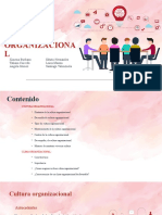 Diapositivas Clima y Cultura organizacional