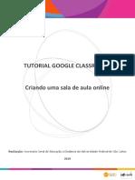 TUTORIAL GOOGLE CLASSROOM_ Criando uma sala de aula online