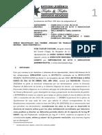 Apelacion a Sentencia Contenciosa Administrativa