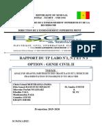 Rapport TP labo 1 & 2 GC2