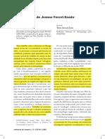 5.4 FAVRET-SAADA, Jeanne. Ser Afetado. Cadernos de Campo, n.13, ano 14. São Paulo, USP, 2005. p. 155-162.