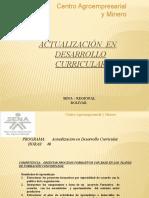 Actualización en Desarrollo Curricular.- 11