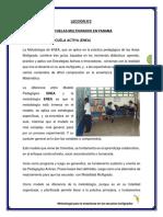 LECCIÓN N°2 Escuelas Multigrados
