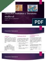 Derechos Humanos y Literatura Medieval