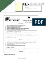 2ª Fase Fuvest DIA 1 (Português, Literatura e Redação 2011-2020)