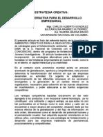 creatividad empresarial, articulo pdf