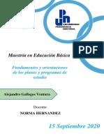 Fundamento del curriculum