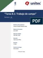 TAREA #8 INVESTIGACION DE MERCADOS