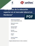 TAREA #3 INVESTIGACION DE MERCADOS