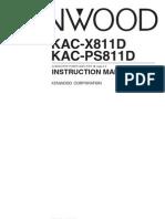 manuals-KAC-X811D