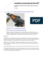 Gunrunning Scandal Uncovered at the ATF - Attkisson (CBS)